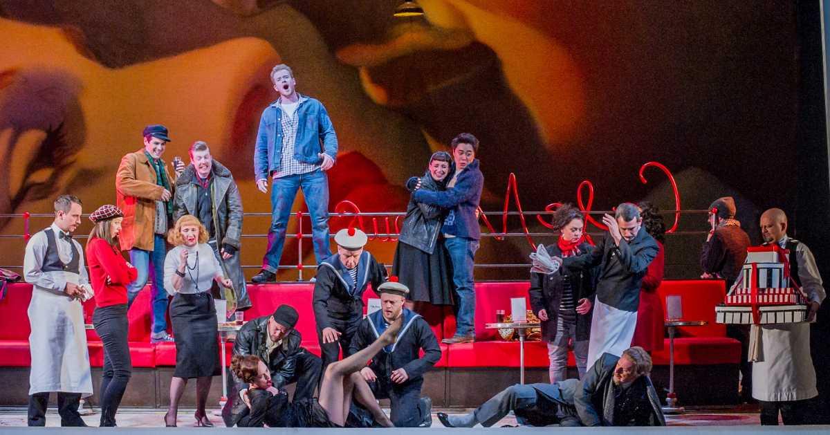 """Musetta, """"La bohème"""" by Puccini (Opera North)"""